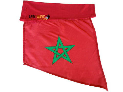 Morocco Arm and Leg Flag, for sale! Purchase one Dozen (12) wholesale