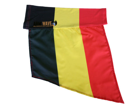 "BELGIUM ARM and FOOT FLAG, for sale! purchase ONE DOZEN (12) ""Wholesale"""