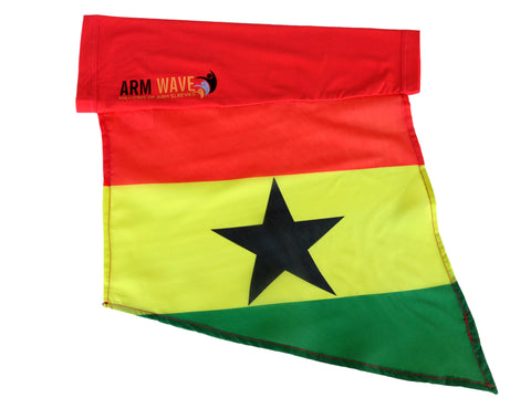 "Ghana Arm and Foot Flag for sale! Purchase One Dozen (12) ""Wholesale"""