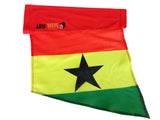 GHANA ARM and FOOT FLAG, is new, represent Africa, Buy now!