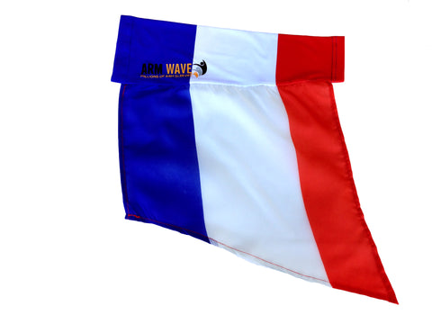 "FRANCE ARM and LEG FLAG, for sale! purchase ONE DOZEN (12), ""Wholesale"""