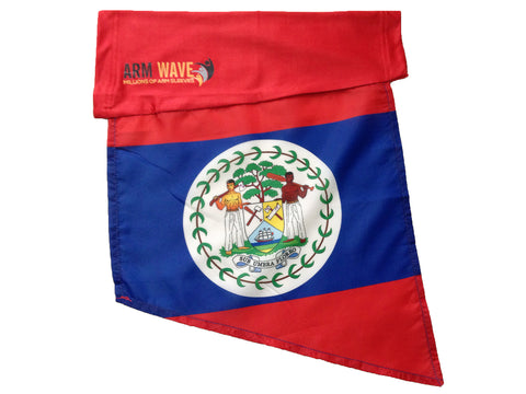 BELIZE ARM and FOOT FLAG, Arm Sleeve Band