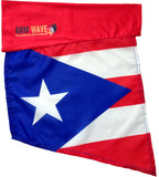 PUERTO RICO Arm Sleeve Flag (Arm Band) perfect for waving at Carnivals and parades