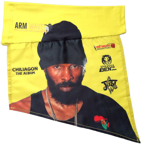 SPRAGGA BENZ new ARM WAVE Sleeve FLAG (Arm Band, Sleeve) for his new Chiliagon Album