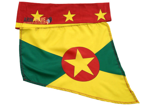 GRENADA  Arm Wave Arm and Foot Sleeve/Band FLAG, the new way to rep your Flag