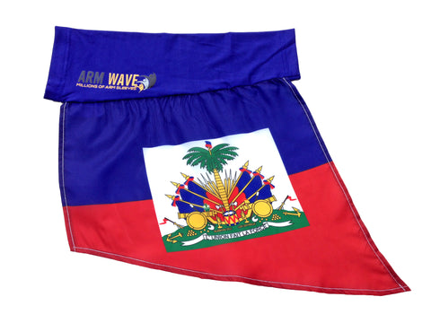 HAITI ARM and LEG FLAG (new Arm Sleeve) light, comfortable and can wear for hours