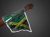 JAMAICA REFLECTIVE ARM and FOOT FLAG