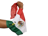 Mexico Arm Wave Sleeve Flag (Arm Band)