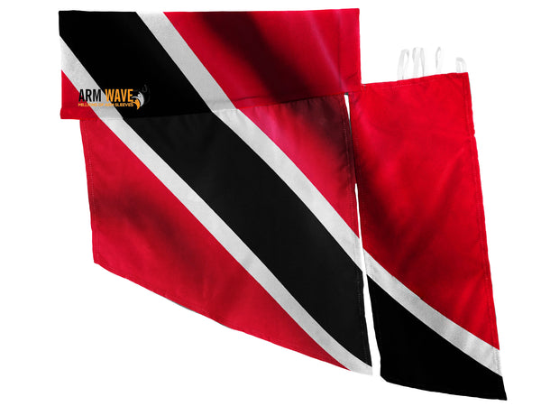 TRINIDADIAN WAVE SLEEVE, the new trendy Sleeves Flags for Carnival