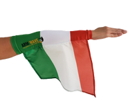 ITALY ARM and LEG FLAG (new Arm Sleeve) light, modern way to represent your country