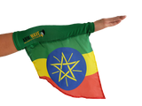 ETHIOPIA ARM and FOOT FLAG (Arm Band, Sleeve) for all cheering activities