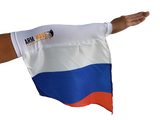 RUSSIA ARM SLEEVE FLAG (new trendy Arm Band) perfect for Cheering Supporters