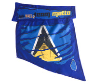 MOTTO CAMOUFLAGE ARM WAVE ARM and LEG FLAG, St. Lucia FLAG and Artiste