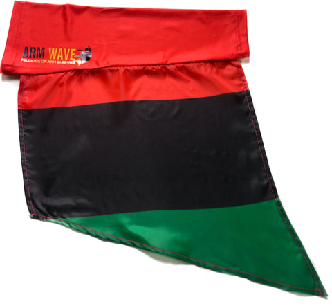 "PAN AFRICAN ARM and LEG FLAG, FOR SALE! PURCHASE ONE DOZEN (12), ""WHOLESALE"