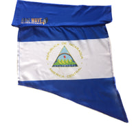 NICARAGUA ARM WAVE ARM and LEG FLAG (Arm Band, Sleeve) for all Arm raising Activities