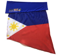 PHILIPPINE ARM WAVE ARM and LEG FLAG (Arm Band, Sleeves) for all Arm raising Activities.