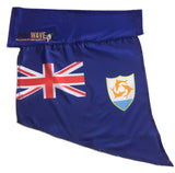 Blue Anguilla Arm Wave arm sleeve Flag