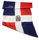 DOMINICAN REPUBLIC ARM and FOOT FLAG (Arm Sleeve, Band) for Carnival.