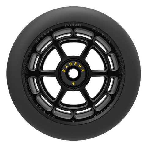 UrbanArtt Civic Wheels - Black