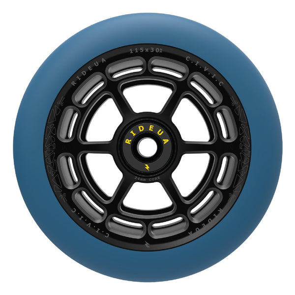 UrbanArtt Civic Wheels - Arctic Blue