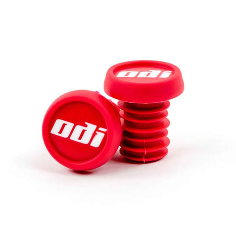 ODI Plastic Bar Ends - Red