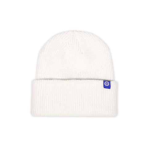 Outset Deep Cuff Beanie - White