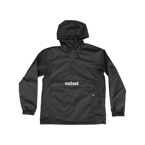 Outset Anorak Windbreaker - Black