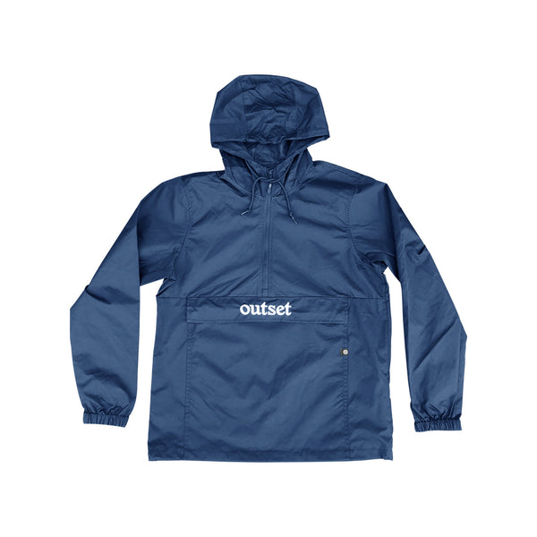 Outset Anorak Windbreaker - Blue