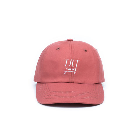 Tilt Booter Dad Hat - Nautical Red