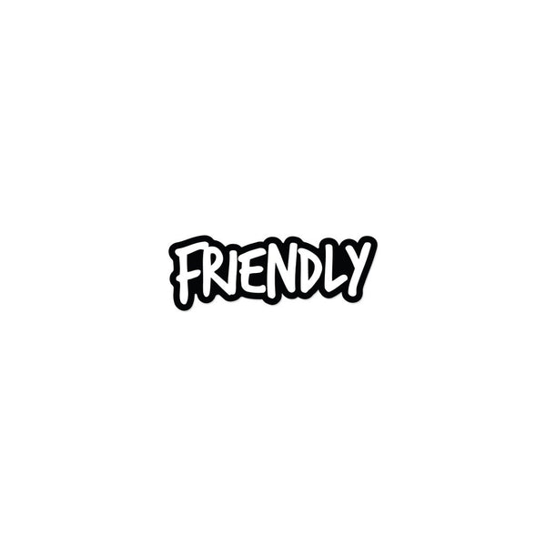 Friendly Logo Sticker