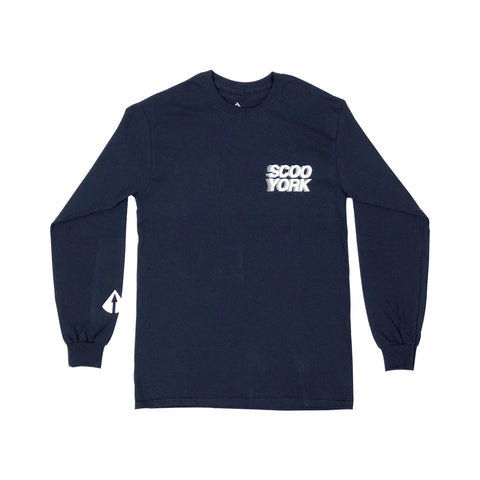 ScooYork X Northern Limited Long Sleeve - Blue