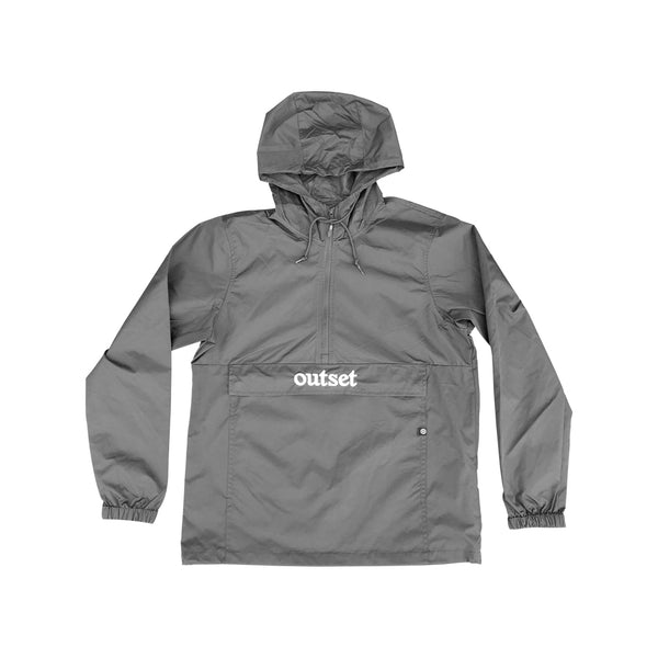 Outset Anorak Windbreaker - Grey
