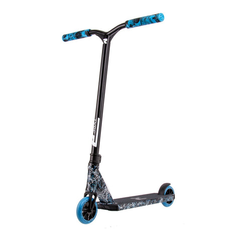 Root Industries Type R Mini Complete Scooter - Blue Splatter