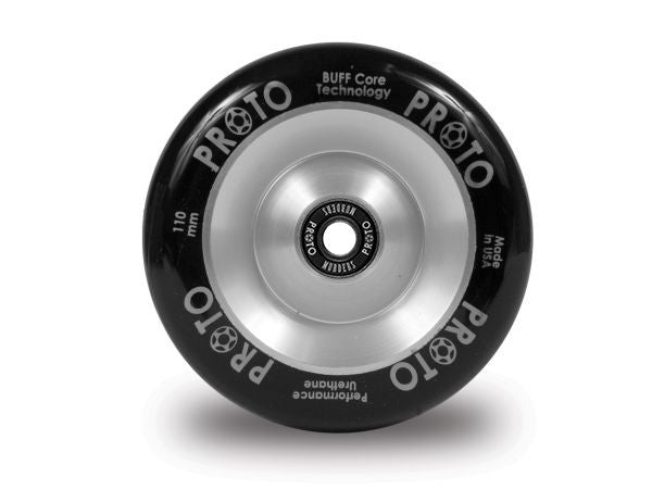PROTO Full Core Slider Wheels [Black on Silver]