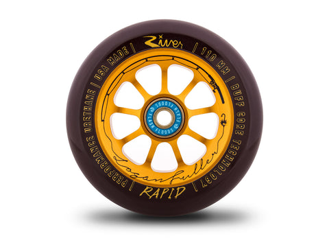"River Logan Fuller ""Angler"" Signature Rapid Wheels"