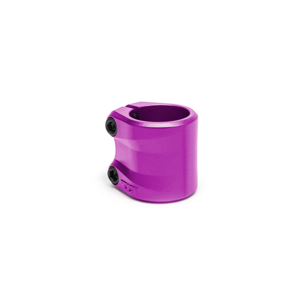 TILT Sculpted Double Clamp - Purple