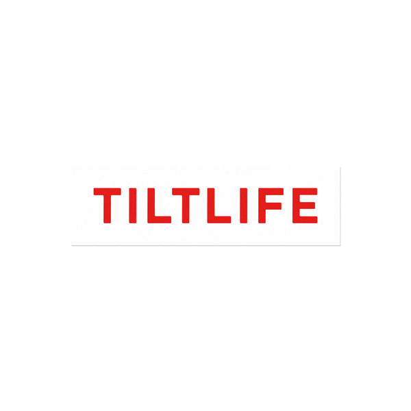 Tiltlife Sticker - White