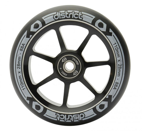 District HT Wheels - 110mm x 28mm