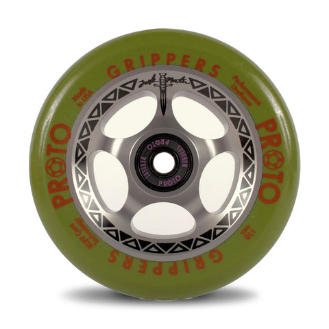 "Proto Zack Martin Signature ""Tracker"" Gripper Wheels"