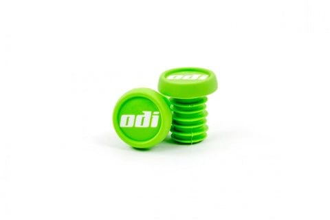 ODI Plastic Bar Ends - Green