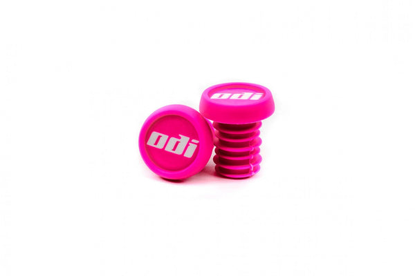 ODI Plastic Bar Ends - Pink