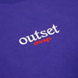 Outset Chicago Tee - Blue