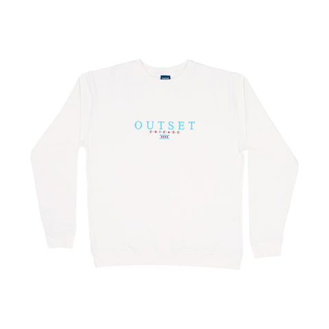 Outset Chicago Crewneck - White