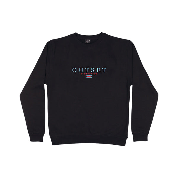 Outset Chicago Crewneck - Black