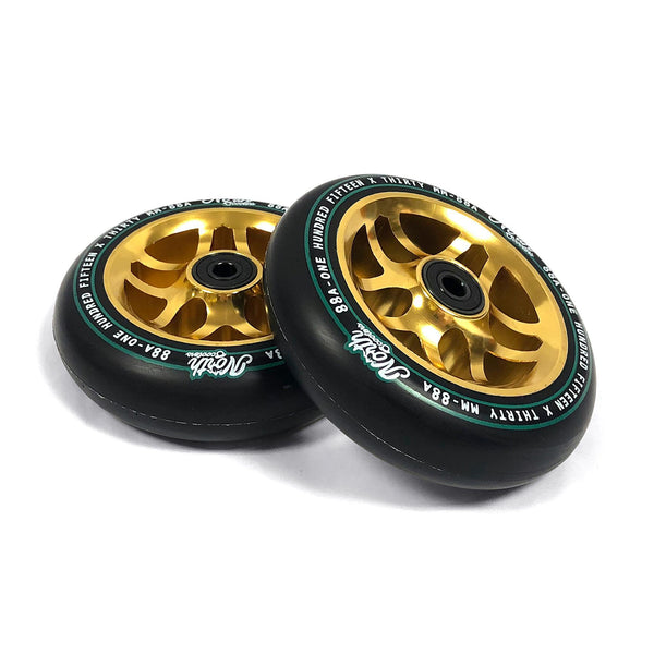 North Scooters Contact Wheels 115mm x 30mm - Gold