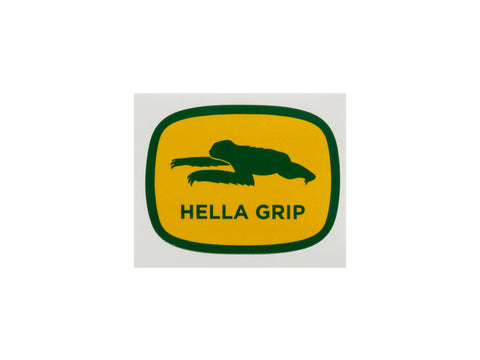 Hella Grip - Josh Sloth Sticker - Yellow