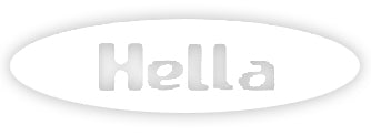 Hella Grip Hella Sharp Sticker - White
