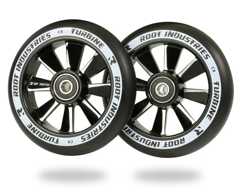 Root Industries 110mm Turbine Wheels - Black Urethane
