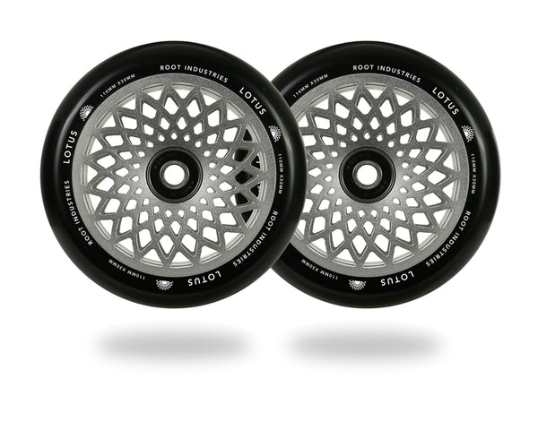 Root Industries - 110mm Lotus Wheels - Silver
