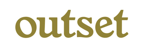 Outset Basic Die Cut Sticker - Gold